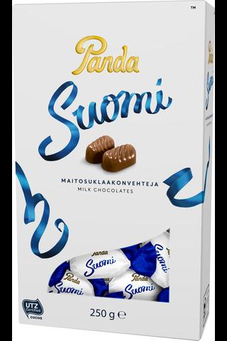 Panda Suomi maitosuklaa konvehti 250g