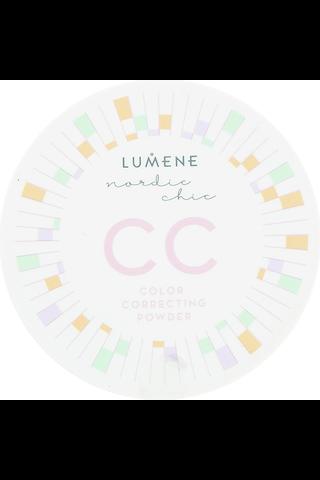 Lumene Nordic Chic CC Color Correcting Puuteri 3 8g
