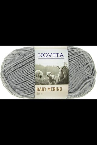 Novita Baby Merino 50 g väri 448 tina lanka