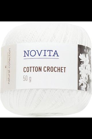 Novita Cotton Crochet 50g väri 011