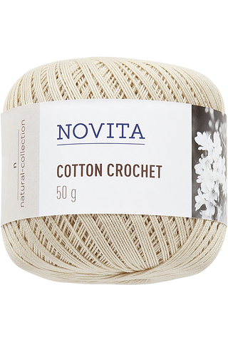 Novita Cotton Crochet 50g lanka olki 612