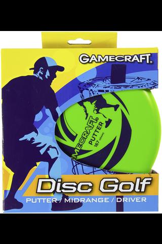 Golf Disc setti 3 kiekkoa