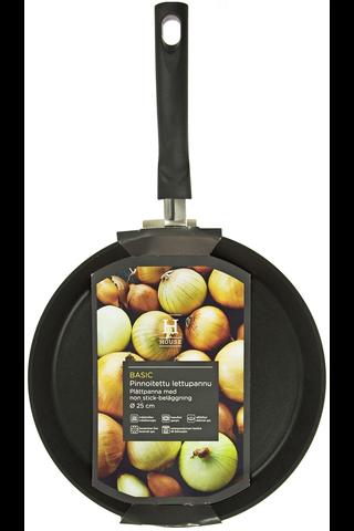 House Basic pinnoitettu lettupannu ø25cm