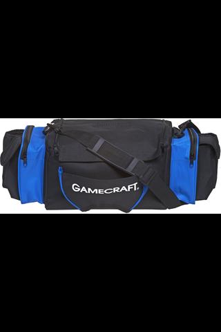 Gamecraft Frisbeegolflaukku 18-22 kiekolle, musta/sininen