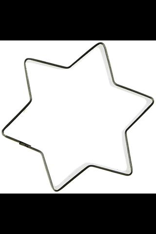 House leivontamuotti tähti 6-sakarainen