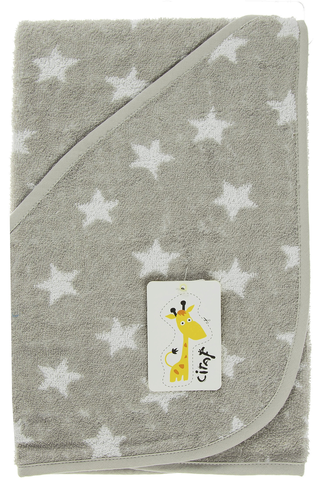 Ciraf huppupyyhe tähti vauvoille