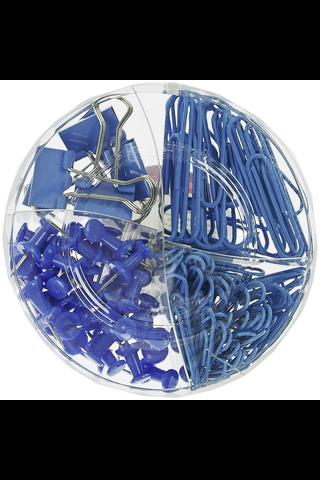 Memoris Precious toimistotarvikesetti sininen 116 osaa
