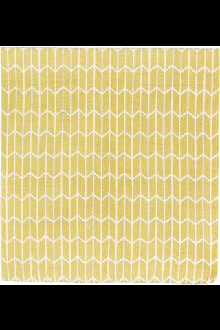 House Nano matto 70x200 cm, keltainen