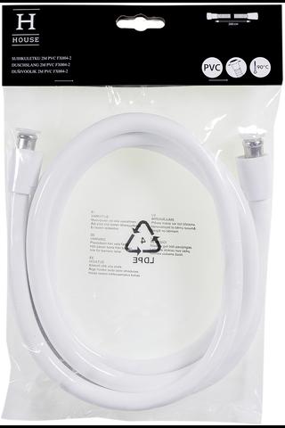 House suihkuletku FX004 2m valkoinen