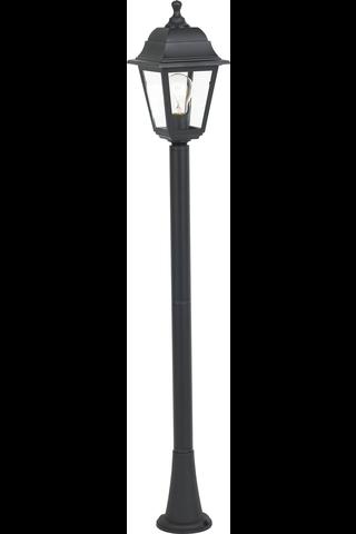 Pylväsvalaisin Juarez 31,5cm ruostumaton teräs musta