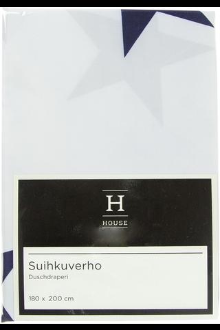 House suihkuverho Star 180x200cm