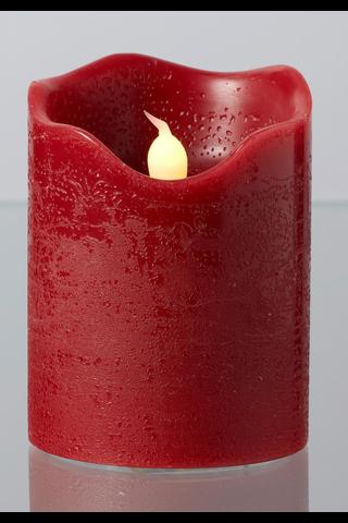 House Dalton led-vahakynttilä 10cm punainen