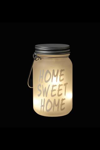 House Led koristevalopurkki cute