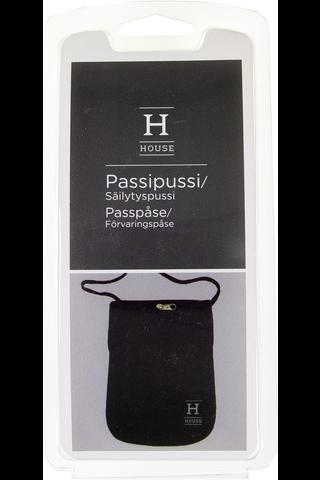 House passipussi musta 17104H