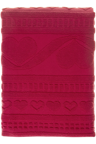 House Lovely kylpypyyhe 70x140cm punainen