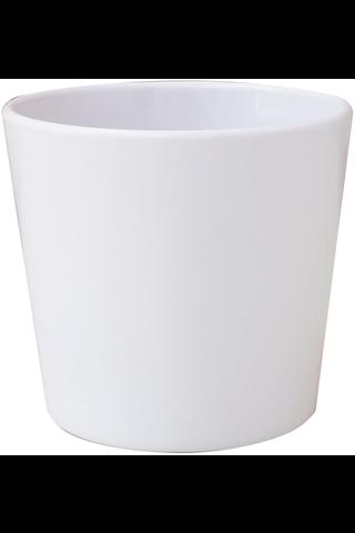House ruukku 12,5cm valkoinen sileä