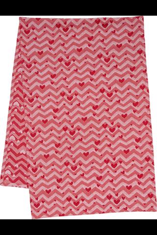 House Sydän laudeliina 50x150cm punainen