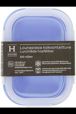 House kokoontaittuva lounasrasia 300 ml