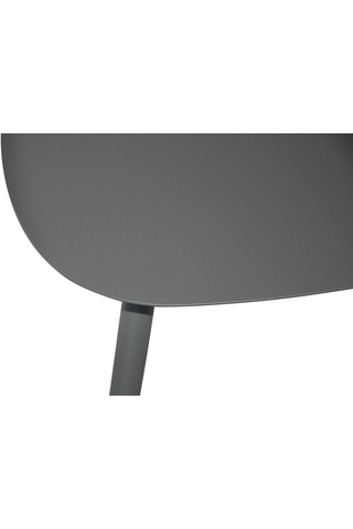 House pöytä terästä antrasiitti L58xS43xK45 cm