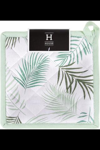 House Palmu patalappu 20x20cm vihreä