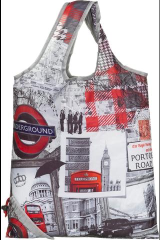Kokoontaitettava ostoskassi Lontoo