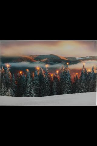 House Lappi canvastaulu led-valoilla 40x60 cm