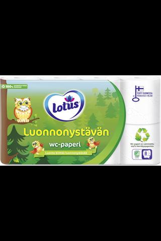 Lotus Luonnonystävän WC-paperi 8rl
