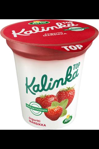 Arla Kalinka Top 150g mansikkakerrosjogurtti vähälaktoosinen