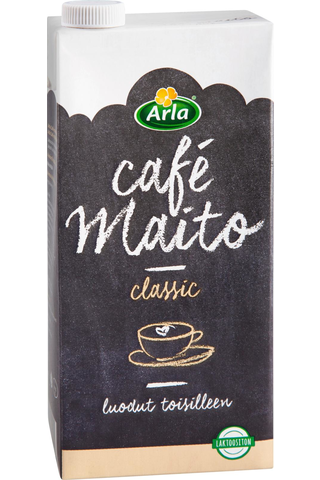 Arla 1l café maito laktoositon UHT