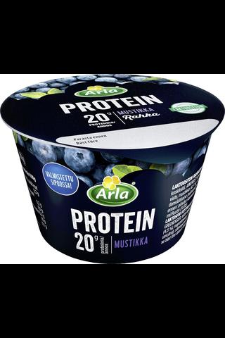 Arla Protein 200 g mustikka rasvaton laktoositon proteiinirahka