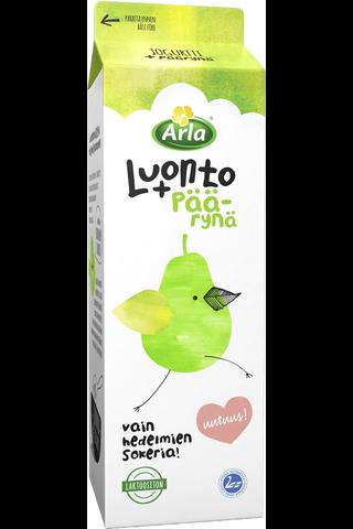 Arla Luonto+ 1kg laktoositon Päärynäjogurtti