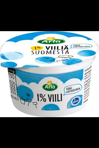 Arla 200g 1% Suomesta vähälaktoosinen viili