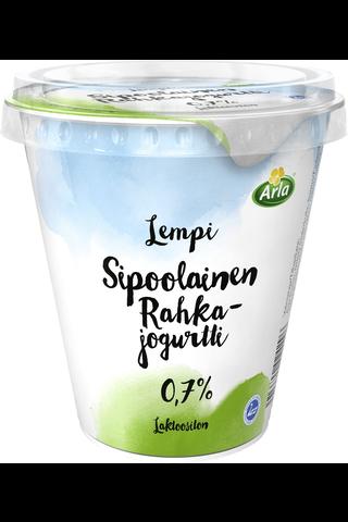 Arla Lempi Sipoolainen laktoositon 0,7% rahkajogurtti 300 g