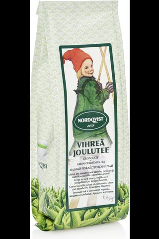 Nordqvist Joulutee 80g vihreä maustettu irtotee