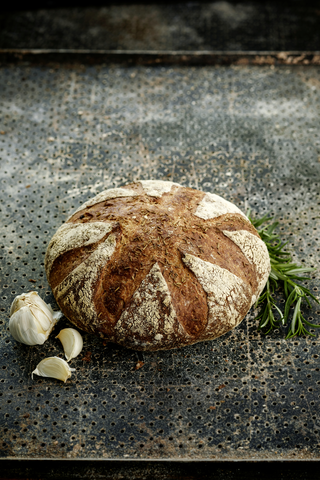 Fazer Leipurit rosmariini-valkosipuli-leipä 360 g