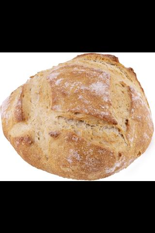 Fazer Kiireetön Luomu Maalaisleipä 400g/390g myymäläpaisto esikypsennetty pakasteleipä