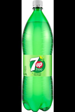 7UP Free 1,5l KMP pullo
