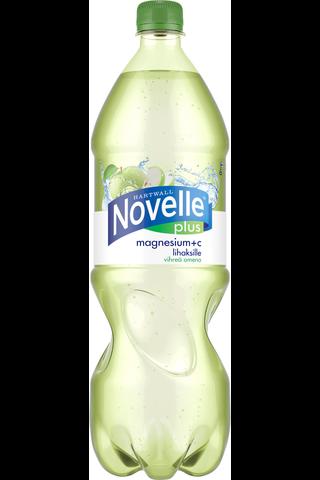 Hartwall Novelle plus magnesium + C 1,5l kpm 12pl/levy
