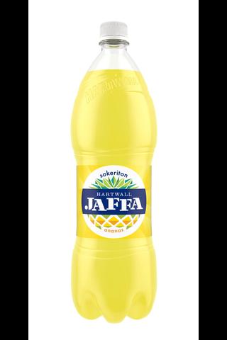 Harwall Jaffa Ananas Sokeriton virvoitusjuoma 1,5 l