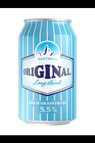 Hartwall Original Long Drink 5,5%  0,33 l tölkki