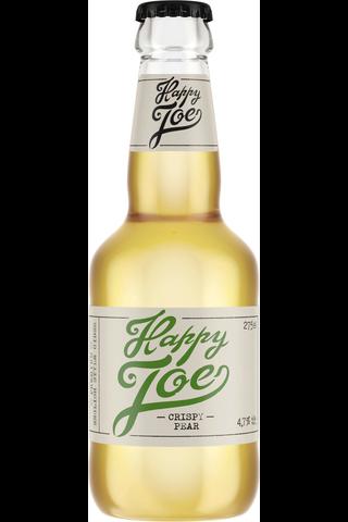 Hartwall Happy Joe Crispy Pear 4,7% siideri 0,275 l kertalasipullo