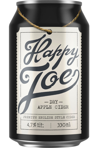 Hartwall Happy Joe Dry Apple siideri 4,7% 0,33 tlk