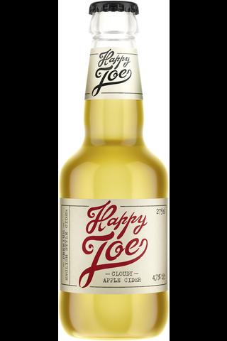 Hartwall Happy Joe Cloudy Apple siideri alk. 4,7%0,275 l kertalasipullo