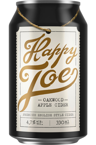 Hartwall Happy Joe Oakwood Apple siideri 4,7% 0,33 l tölkki