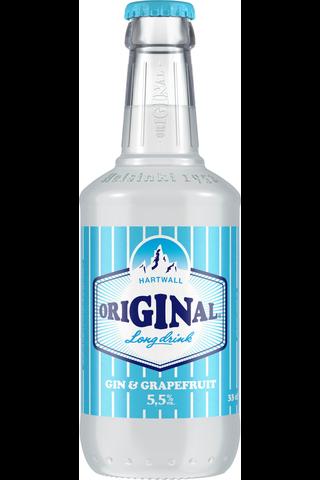 Hartwall Original Long Drink 5,5% 0,33 l pullo