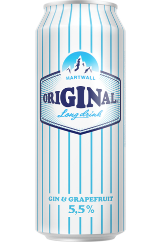 Hartwall Original Long Drink WL Grapefruit 5,5% 0,5 l