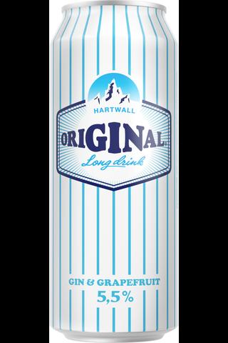 Hartwall Original Long Drink light 5,5% 0,5l tölkki