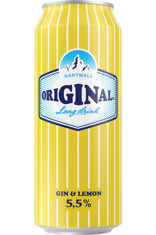 Hartwall Original Long Drink Gin & Lemon 5,5% 0,5 l tölkki
