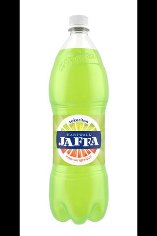 Hartwall Jaffa Lime-Verigreippi Sokeriton 1,5 l KMP