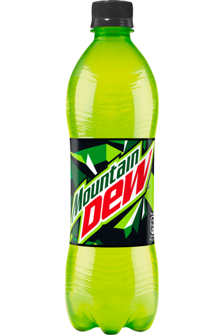 Mountain Dew 0,5 l KMP pullo